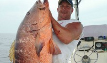 Alabama Fisherman Lands 85-Pound Snapper with 30-Pound-Test Monofilament (Pic)