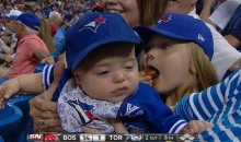 Watch This Video of Adorable Baby Falling Asleep at Blue Jays Game, Then Send It to Your Mom (Video)