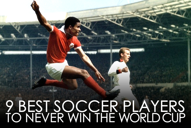best soccer players to never win the world cup