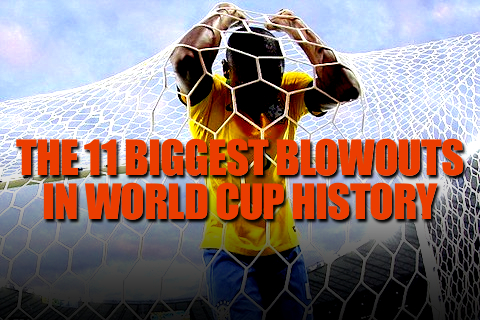 biggest blowouts in world cup history