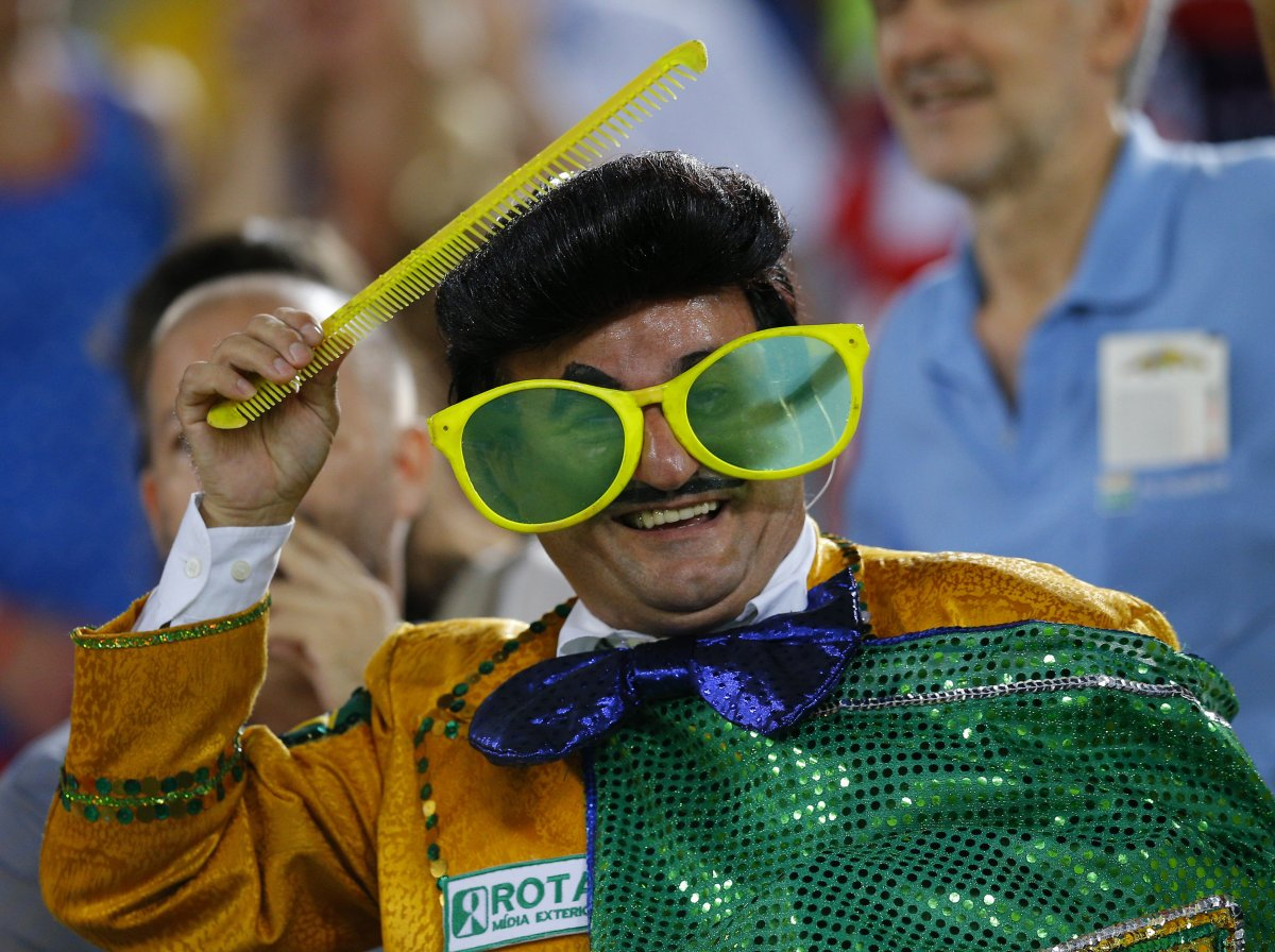 brazilian world cup fan - craziest fans at 2014 fifa world cup