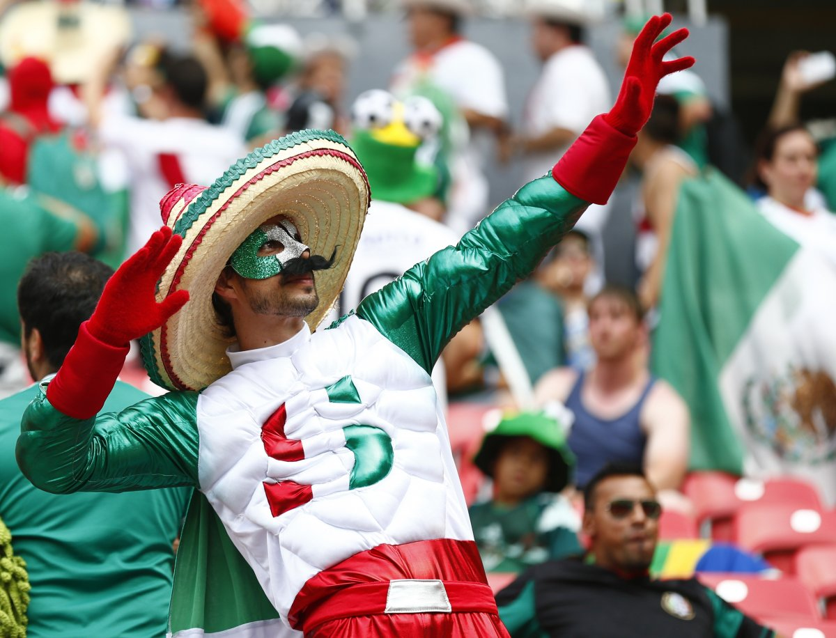 captain mexico - craziest fans at 2014 fifa world cup