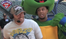 Here's Brewers Center Fielder Carlos Gomez Dancing Around in a Ninja Turtles Costume, Just Because (Video)