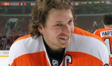 Flyers Captain Claude Giroux Celebrates Canada Day by Getting Drunk, Grabbing Cop's Butt, and Getting Arrested