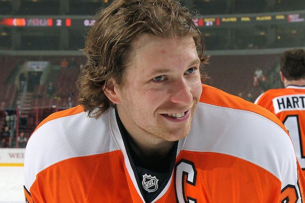 claude giroux flyers arrested grabbing male police officers butt