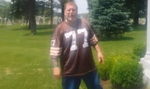 Cleveland Browns Fan Takes a Piss on Art Modell's Grave, Puts the Video on YouTube (Video)