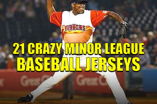 crazy minor league baseball jerseys
