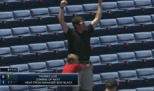 This Video of Braves Dad Catching a Foul Ball for His Son Might Be Too Cute for You to Handle (Video)
