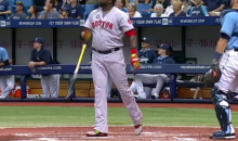 David Ortiz Crushes Home Run, Flips Bat, Pisses Off Rays Pitcher (Video)