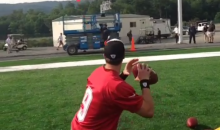 Here Is How Drew Brees Does Skeet Shooting (Video)