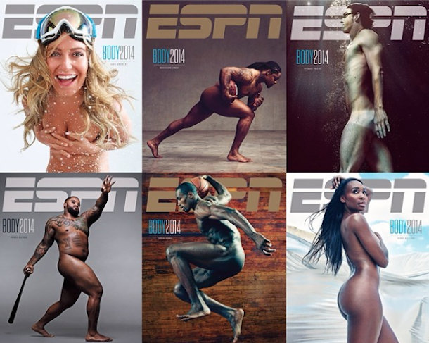 espn body issue 2014 covers