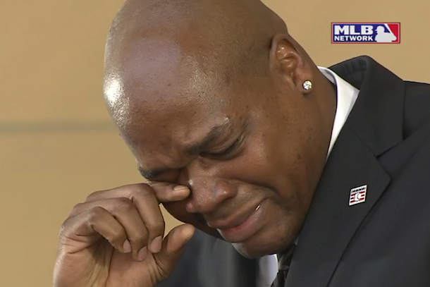frank thomas emotional hall of fame induction speech