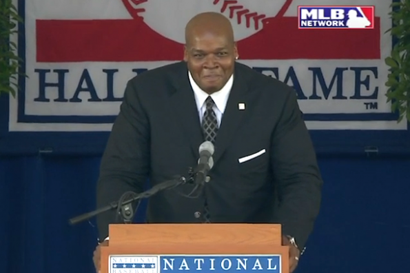 frank thomas hall of game induction speech