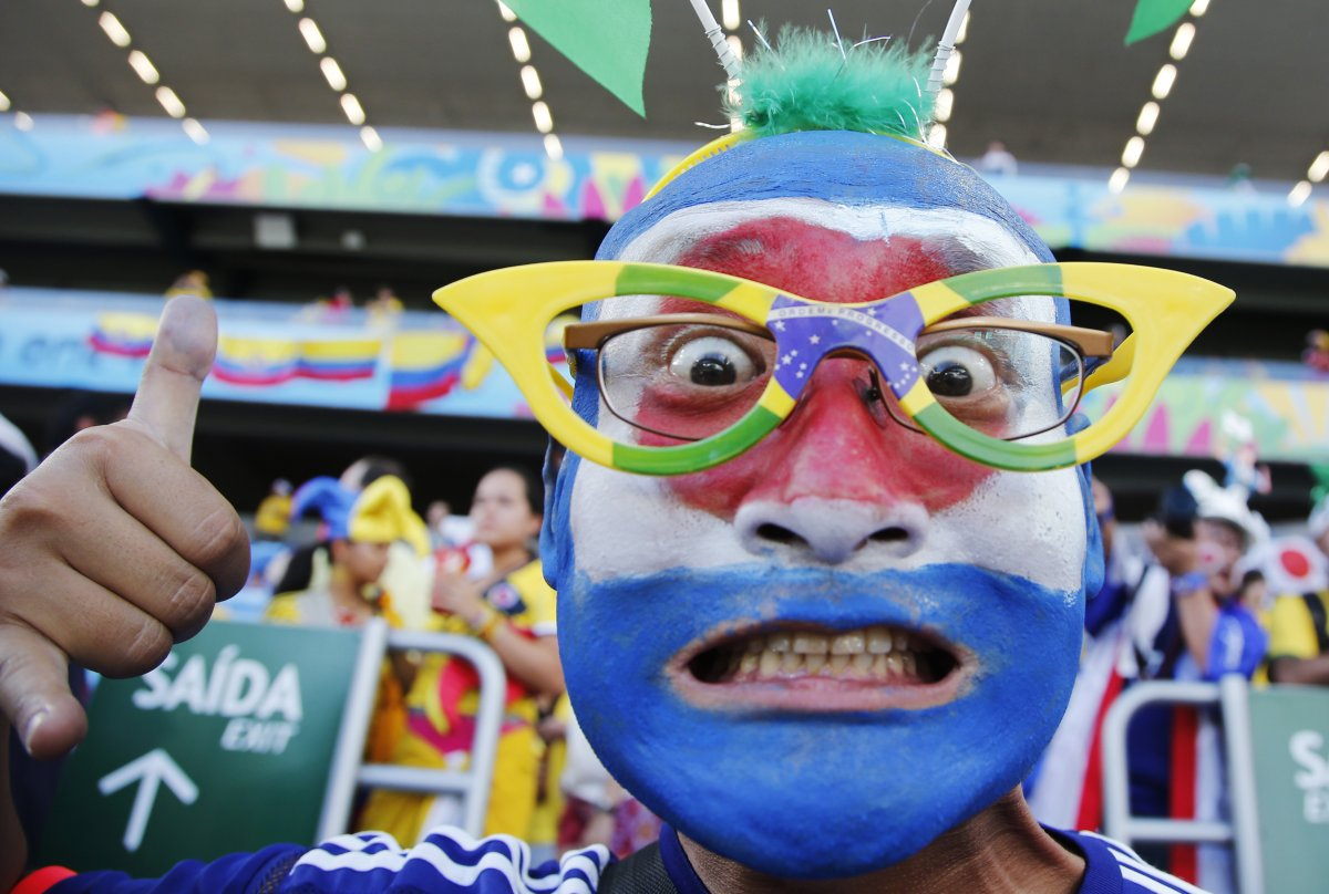 japanese world cup fan - craziest fans at 2014 fifa world cup