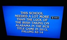 'Jeopardy' Burns Notre Dame with Question About the 2013 BCS Title Game (Pic)