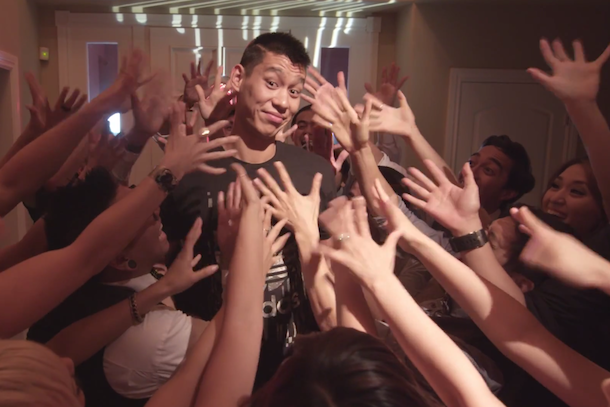 jeremy lin goes hollywood youtube video