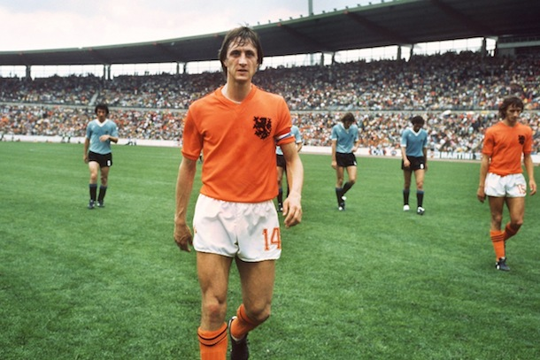 johan cruyff netherlands - best soccer football players never to win the world cup