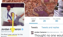 Arbitrator Declares Jimmy Graham a Tight End, Causing Jordan Cameron to Change His Twitter Bio