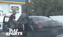 Third Time's the Charm? Watch Justin Blackmon Get Arrested for Weed (Video)