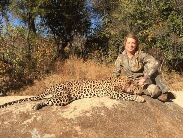 kendall jones leopard kill