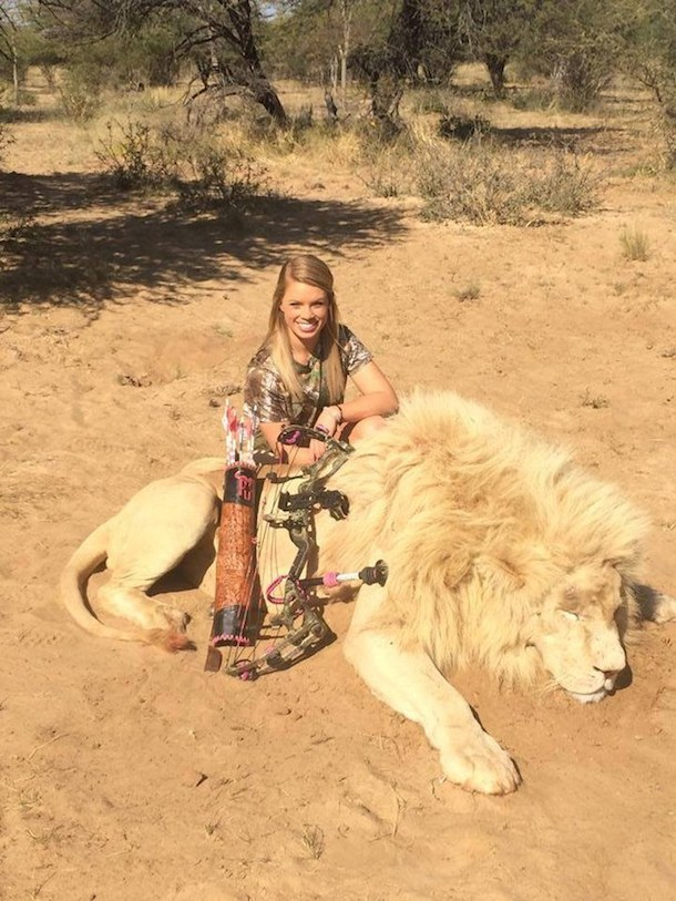 kendall jones lion kill
