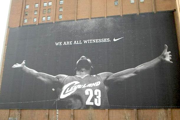lebron cleveland we are all witness