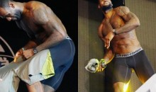 Watch LeBron James Take Off All His Clothes for a Bunch of Taiwanese People (Video)