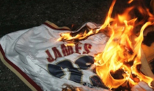 For Sale Right Now on eBay: a Pile of Ashes that Used to Be a LeBron James Cavaliers Jersey (Pics)