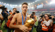 Mesut Ozil Uses World Cup Championship Bonus to Pay for Surgeries of 23 Brazilian Children