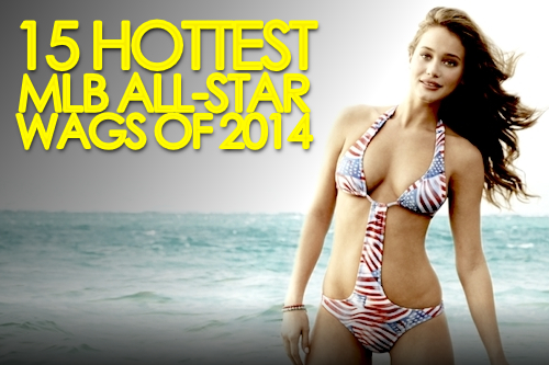 mlb all-star wags 2014