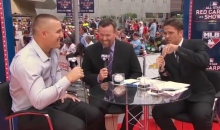 MLB Network's Greg Amsinger Predicted Mike Trout Would Drive in Jeter with a Triple, and He Did  (Video)