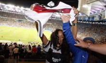 Rihanna LOVES the Mannschaft, and She Doesn't Care Who Knows It (Pics)
