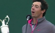 Rory McIlroy Trolls Liverpool Fans After Winning 2014 British Open (Video)
