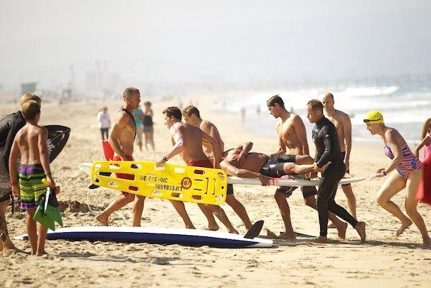 shark attack manhattan beach