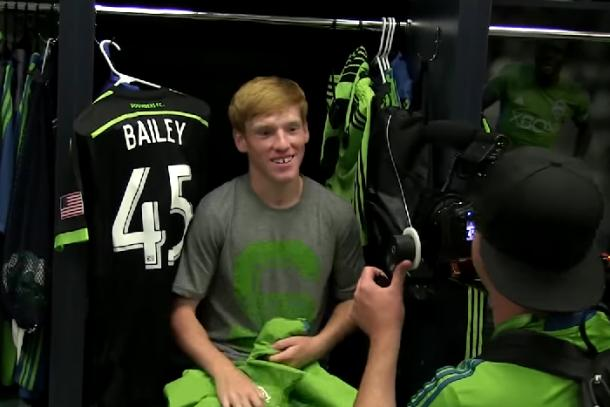 sounder sign xander baily make-a-wish foundation