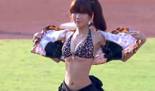 A Ceremonial First Pitch That's Also a Striptease? Taiwanese Baseball Is Weird (Video)
