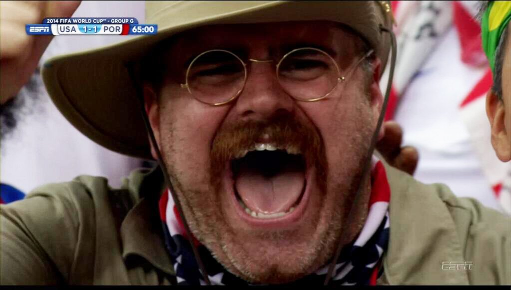 teddy-goalsevelt - craziest fans at 2014 fifa world cup