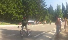 Tour de France Cyclist Stops Mid-Race and Tells Hecklers to Shut the Hell Up (Video)