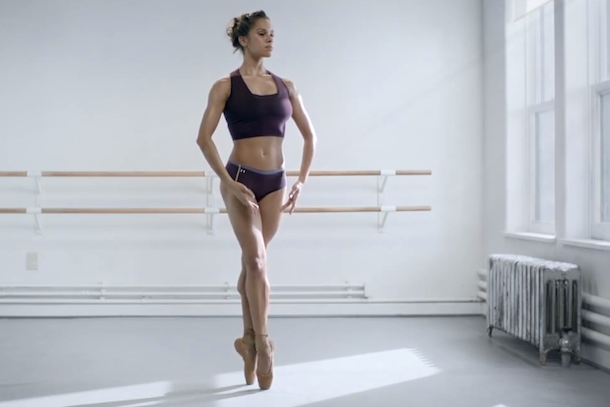 under armour ballet comercial misty copeland