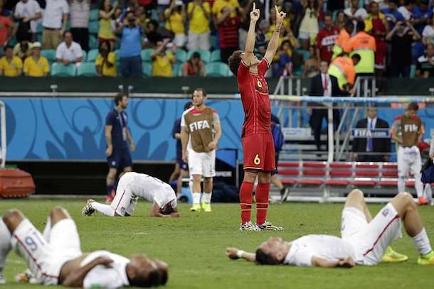 usa belgium 2014 world cup - heartbreaking usa sports losses
