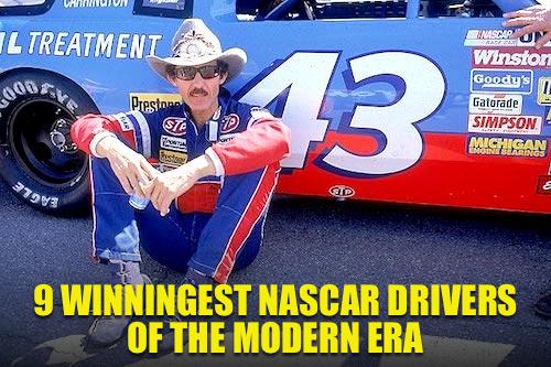 winningest NASCAR drivers modern era
