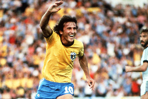 zico brazil - best soccer football players never to win the world cup
