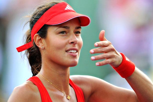 1 Ana Ivanovic (Serbia) - hottest women at the 2014 U.S. Open