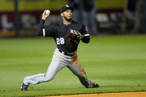 14 leury garcia white sox - position players who pitched in 2014