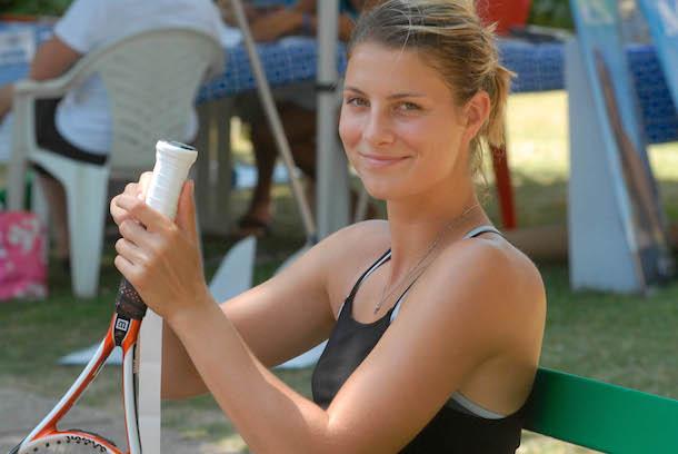 18 Mandy Minella (USA) - hottest women at the 2014 U.S. Open