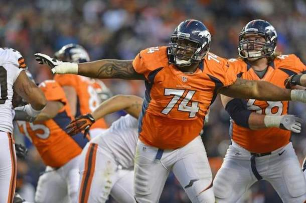 2 orlando franklin denver broncos - most penalized teams in the nfl
