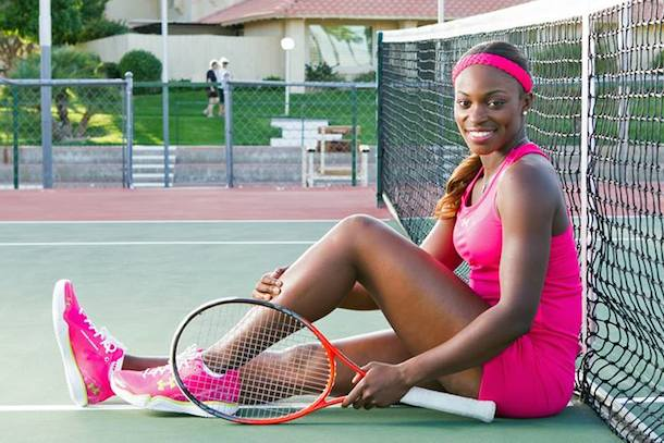 3 Sloane Stephens (USA) - hottest women at the 2014 U.S. Open