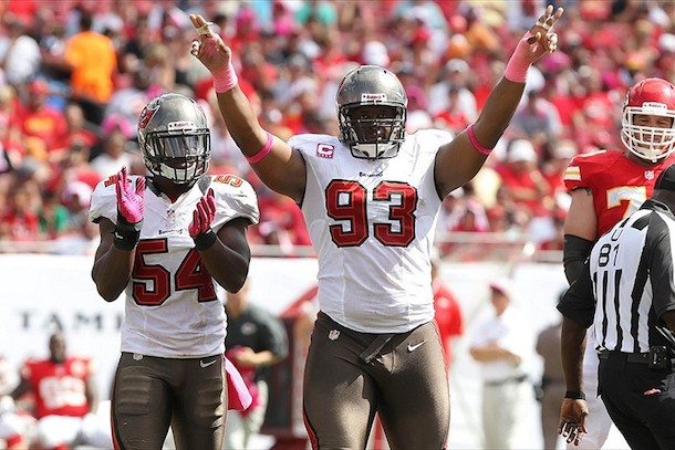 4 gerald mccoy tampa bay buccaneers - most penalized teams in the nfl