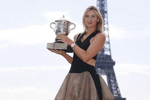 7 Maria Sharapova (Russia) - hottest women at the 2014 U.S. Open