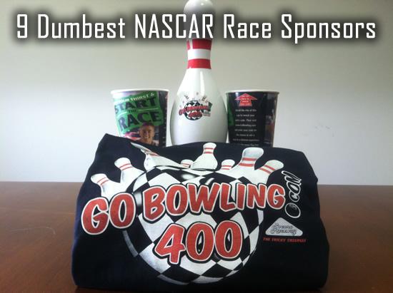 9 Dumbest NASCAR Race Sponsors